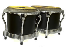 Svart bongo Royaltyfri Fotografi