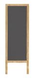 svart brädeutklippmeddelande Royaltyfri Fotografi