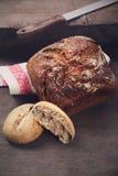 Svart bröd Royaltyfria Bilder