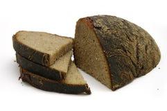 svart bröd Arkivfoton
