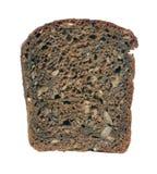 svart brödstycke Arkivfoto