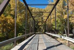 Svart bro Royaltyfri Bild
