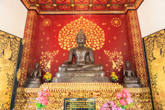 Svart Buddha Arkivbilder