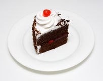 svart cakeskog Royaltyfri Bild