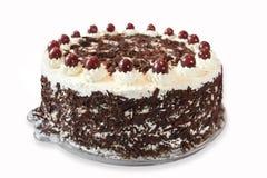 svart cakeskog Royaltyfria Bilder