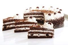 svart cakeskog Royaltyfri Foto