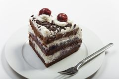 svart cakeskog Arkivfoton