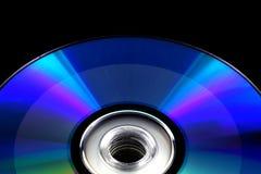 svart cd registrerad diskettdvd som isoleras Arkivfoto