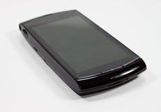 svart celltelefon Arkivbild
