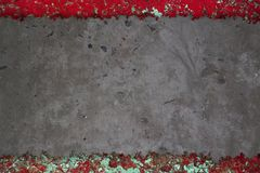 Svart cementtextur Arkivfoto
