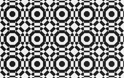 Svart cirkeltextilbakgrund vektor illustrationer