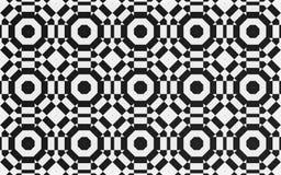 Svart cirkeltextilbakgrund royaltyfri illustrationer