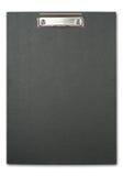 svart clipboard Arkivfoto