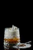 svart coctail för bakgrund Royaltyfri Foto