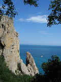 svart crimea hav royaltyfri fotografi