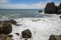 svart crimea hav arkivbild