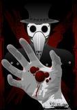 svart död royaltyfri illustrationer