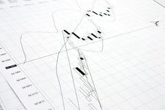 svart diagram Royaltyfria Bilder