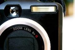 Svart digital kamera Arkivbilder