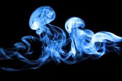 svart djup isolerad rök för bakgrund arkivfoton