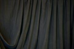 Svart draperad bakgrund Fotografering för Bildbyråer