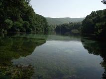 Svart Drim flod Fotografering för Bildbyråer