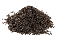 svart earlgrey låter vara loose tea Royaltyfria Bilder