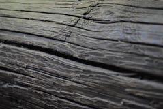 svart ebenholtssvart dyrt högt res-texturträ Royaltyfri Foto