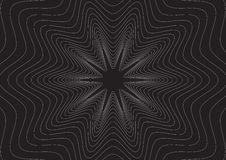 svart effektlinje Arkivfoto