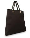 svart elegant handväska Arkivfoto