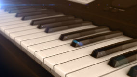 svart elfenben keys pianowhite Vektor Illustrationer