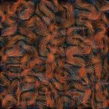 Svart för fiber för texturbakgrundsabstrakt begrepp Royaltyfri Foto
