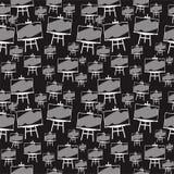 Svart för modell för vektorsvart tavlabakgrund stock illustrationer
