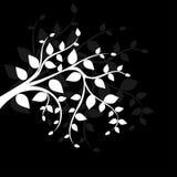 svart filial för bakgrund vektor illustrationer
