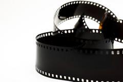 svart film isolerat foto royaltyfri bild