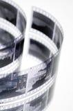 svart filmwhite Arkivfoton
