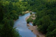 svart flod Royaltyfria Bilder