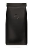 svart foliepacke Royaltyfria Bilder