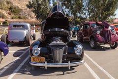 Svart Ford Deluxe Sedan 1940 Royaltyfria Foton