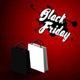 Svart fredag försäljningsdesign Royaltyfri Fotografi