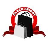 Svart fredag försäljningsdesign Royaltyfria Foton