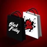 Svart fredag försäljningsdesign Royaltyfri Foto