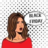 Svart fredag försäljningsdesign Fotografering för Bildbyråer