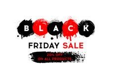 svart friday för baner försäljning Arkivfoto