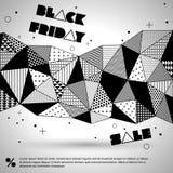 svart friday försäljning Arkivbilder