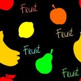 Svart fruktmodell Arkivbilder