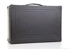 svart gammal resväska Fotografering för Bildbyråer