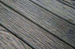 Svart gammalt trä texturerar Royaltyfri Bild