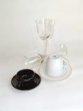 svart genomskinlig white Royaltyfria Foton
