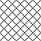 Svart GEOMETRISK sömlös modell i vit bakgrund stock illustrationer